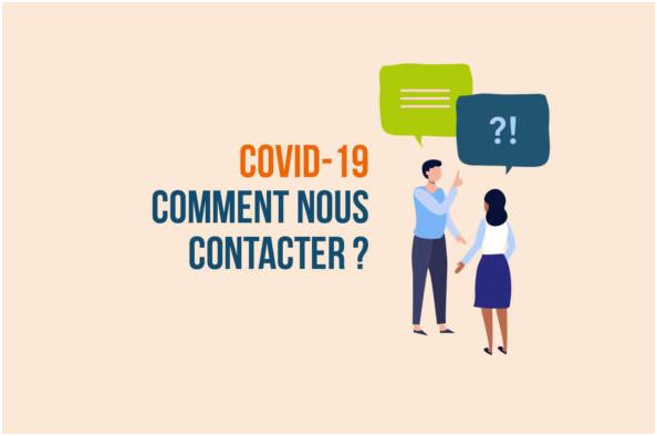 COVID-19 : LE DÉPARTEMENT JOIGNABLE PENDANT LA CRISE