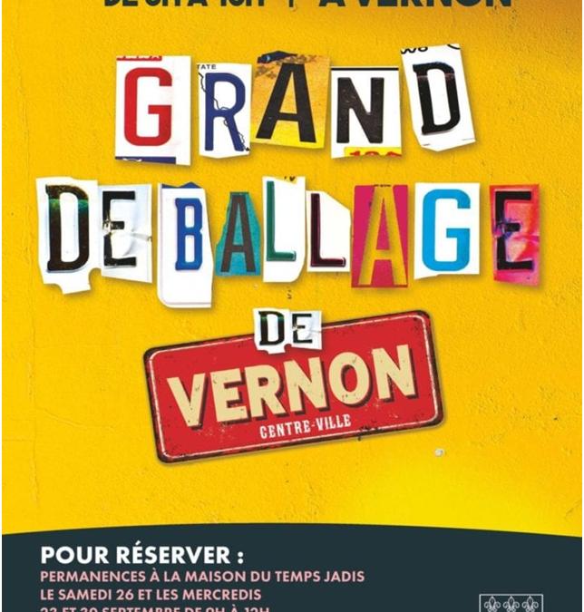 VERNON : LE GRAND DÉBALLAGE