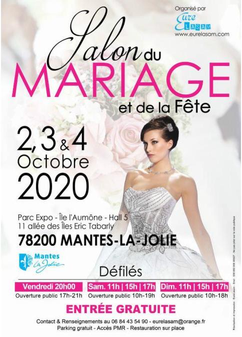 MANTES-LA-JOLIE : SALON DU MARIAGE