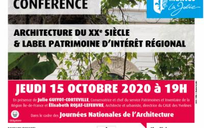 MANTES-LA-JOLIE : LES JEUDIS DU PATRIMOINE
