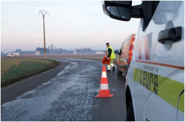 EURE : 242 AGENTS POUR SÉCURISER LES ROUTES CET HIVER