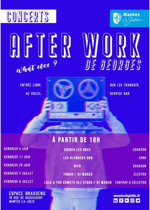 MANTES-LA-JOLIE : AFTER WORK DE GEORGES