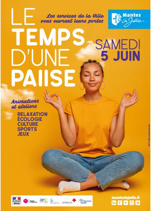 MANTES-LA-JOLIE : LE TEMPS D'UNE PAUSE