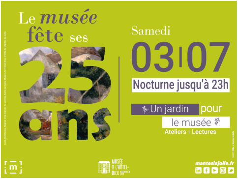 MANTES-LA-JOLIE : LES 25 ANS DU MUSÉE DE L'HÔTEL-DIEU