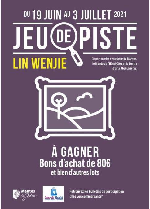 MANTES-LA-JOLIE : JEU DE PISTE LIN WENJIE