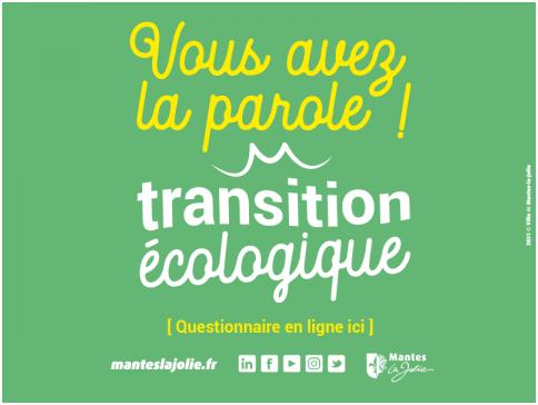 MANTES-LA-JOLIE : QUESTIONNAIRE SUR LA TRANSITION ÉCOLOGIQUE