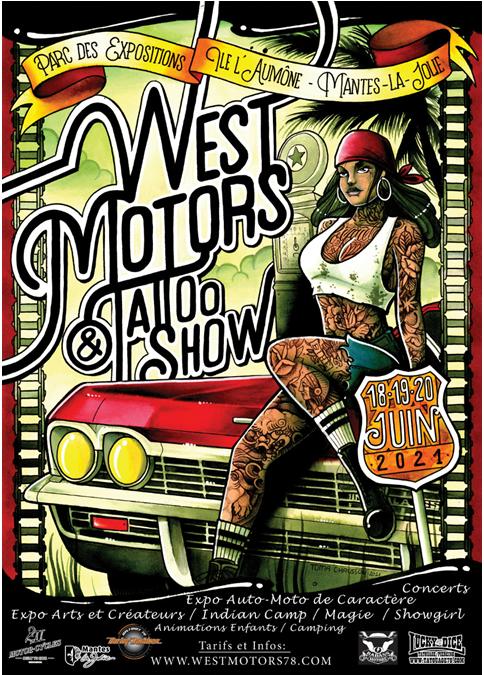 MANTES-LA-JOLIE : WEST MOTORS & TATTOO SHOW