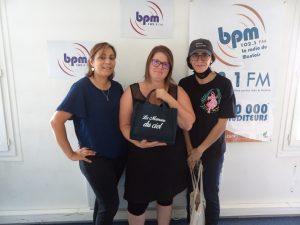 BPM reçoit Sonia Elotmany, Vanesse De Coninck et Lydia Boussadia co-fondatrices de l'association Les Mamans du ciel avec Rosa Benmechiche.