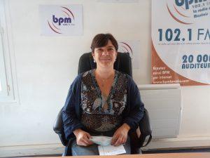 BPM reçoit Olivia Roulleau, chef de service de l'association AFPI, dont le but est d'aider les bénéficiaires du RSA à s'insérer dans le monde professionnel.