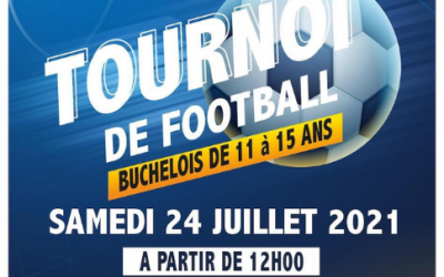 BUCHELAY : UN TOURNOI DE FOOTBALL POUR LES 11-15 ANS