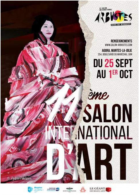 la 11ème édition du salon arbustes aura lieu du 25 septembre au 1er octobre 2021 à Mantes-la-Jolie
