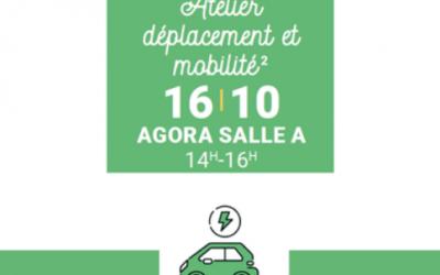 Mantes-la-Jolie : Atelier déplacement et mobilité