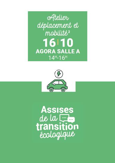 Un atelier mobilité et déplacement aura lieu le 16 octobre 2021 à Mantes-la-Jolie